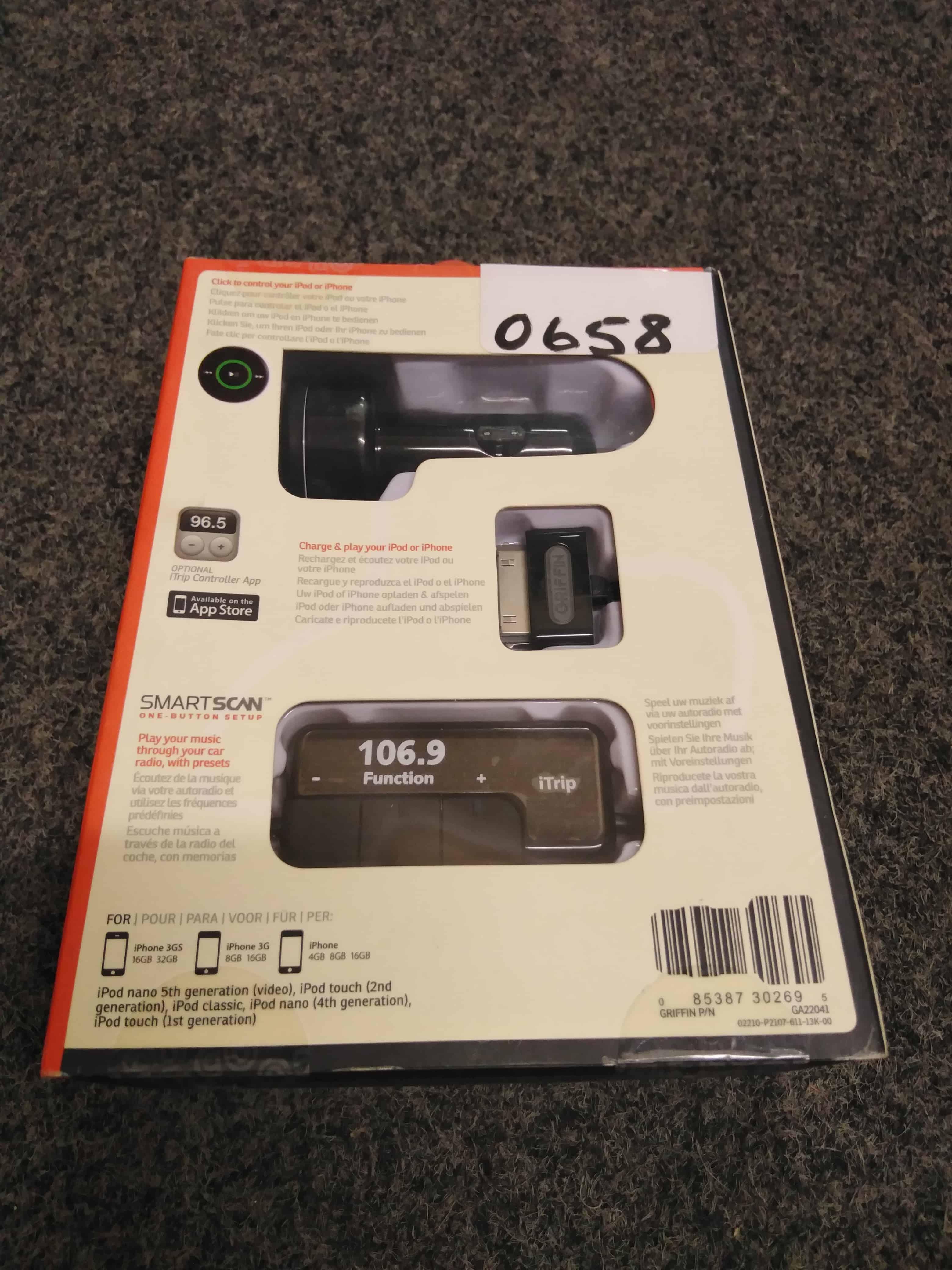 #0658 iTrip AutoPilot (Play on Fm Radio+Charge+Control)